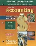 Glencoe Accounting First Year Course, Chapter Study Guides And Working Papers Chapters 1-13