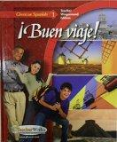 Buen Viaje, Glencoe Spanish 1, Teacher Wraparound Edition
