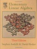 Elementary Linear Algebra, Third Edition