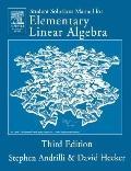 Student Solutions Manual to Accompany Elementary Linear Algebra