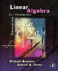 Linear Algebra An Introduction