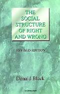Social Structure of Right and Wrong