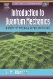 Introduction to Quantum Mechanics: in Chemistry, Materials Science, and Biology (Complementary Science)