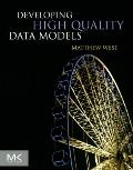 Developing High Quality Data Models