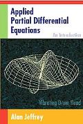 Applied Partial Differential Equations An Introduction