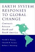 Earth System Responses to Global Change Contrasts Between North and South America