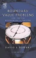 Boundary Value Problems And Partial Differential Equations