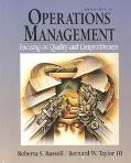 Operations Management Focusing on Quality and Competitiveness/With a Student's Guide to the ...