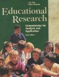 Educational Research: Competencies for Analysis and Applications (Includes Software for Wind...