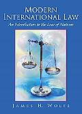 Modern International Law An Introduction to the Law of Nations
