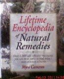 Lifetime Encyclopedia Natural Remedies Borders Press - Hardcover