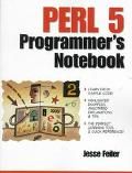 PERL 5 Programmer's Notebook - Jesse Feiler - Paperback