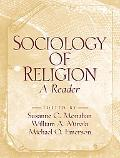 Sociology of Religion A Reader