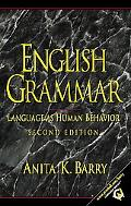 English Grammar Language As Human Behavior