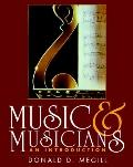 Music and Musicians An Introduction