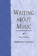Writing About Music An Introductory Guide