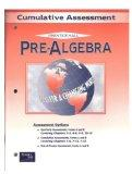 Pre-Algebra: Cumulative Assessment: Prentice Hall