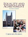 Equality and Achievement An Introduction to the Sociology of Education