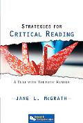 Strategies for Critical Reading A Text With Thematic Reader