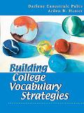 Building College Vocabulary Strategies