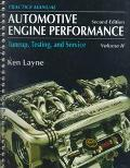 Automotive Engine Performance Tuneup, Testing and Service  Practice Manual