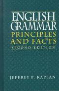 English Grammar Principles and Facts
