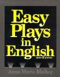 Easy Plays in English - Anna Maria Malkoc - Paperback - REV