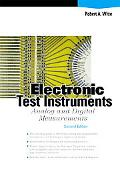 Electronic Test Instruments: Analog and Digital Measurements (2nd Edition)