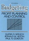 Budgeting Profit Planning and Control