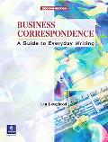 Business Correspondence A Guide to Everyday Writing  Intermediate