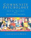 Community Psychology Guiding Principles and Orienting Conc