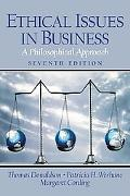 Ethical Issues in Business A Philosophical Approach