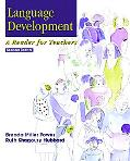 Language Development A Reader for Teachers