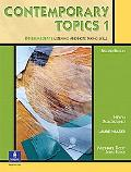 Contemporary Topics 1 Intermediate Listening and Note-Taking Skills