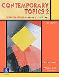 Contemporary Topics 2 High Intermediate Listening and Note-Taking Skills