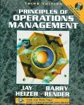 Prin.of Operations Mgmt.-w/cd