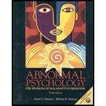 Abnormal Psychology: The Problem of Maladaptive Behavior Media and Research Update, 10th Edi...