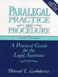 Paralegal Prac.+proc.