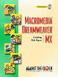 Macromedia Dreamweaver Mx Creating Web Pages