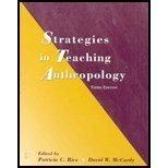 Strategies in Teaching Anthropology