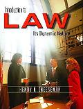 Introduction To Law Its Dynamic Nature