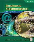 Business Mathematics A Collegiate Approach