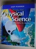 Physical Science: Easy Planner (with Earth and Space Science)