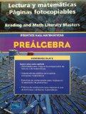 PRENTICE HALL MATH PRE-ALGEBRA SPANISH READING AND MATH LITERACY        BLACKLINE MASTERS 2004C