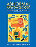 Abnormal Psychology The Problem Of Maladaptive Behavior
