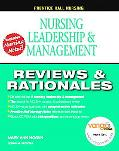 Leadership, Management and Delegation Reviews and Rationa