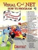 Visual C++.Net: How to Program