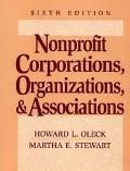 Nonprofit Corporations, Organizations, and Associations