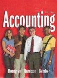 Accounting, 6th Edition, 1-26 (Charles T. Horngren Series in Accounting)