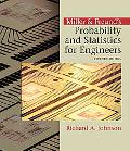 Miller & Freund's Probability And Statistics For Engineers